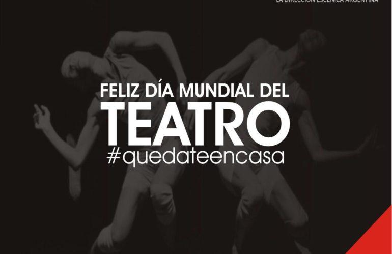 ¡¡¡Feliz Día Mundial del Teatro!!! 🎭 #quedateencasa