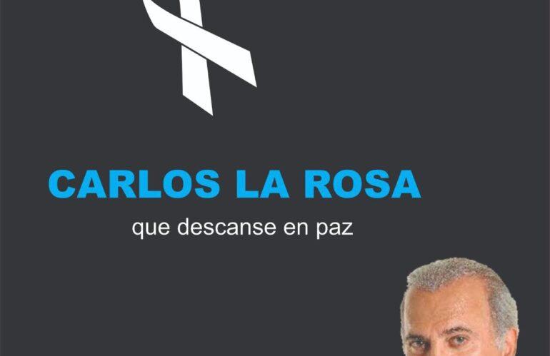 Adiós Carlos La Rosa