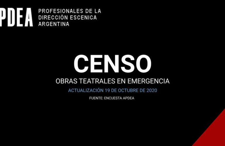 Censo obras en emergencia – 2020