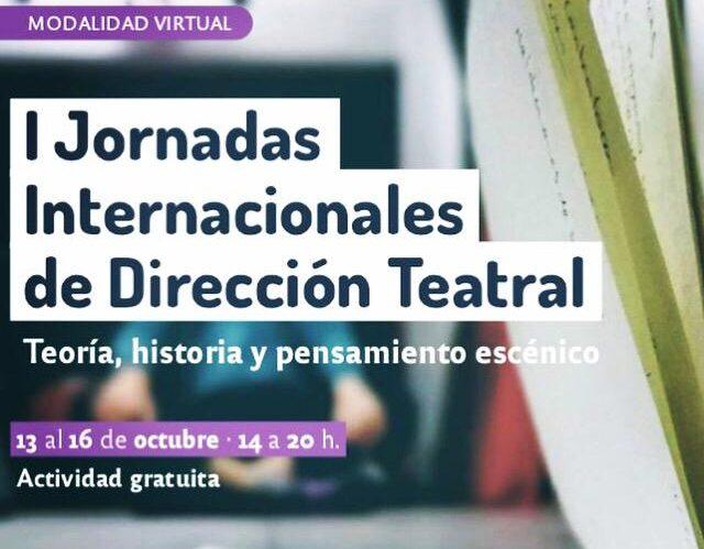 I Jornadas Internacionales de Dirección Teatral