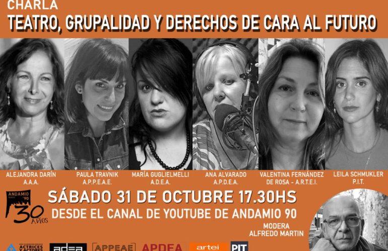 """""""Teatro, Grupalidad y Derechos de cara al futuro"""""""