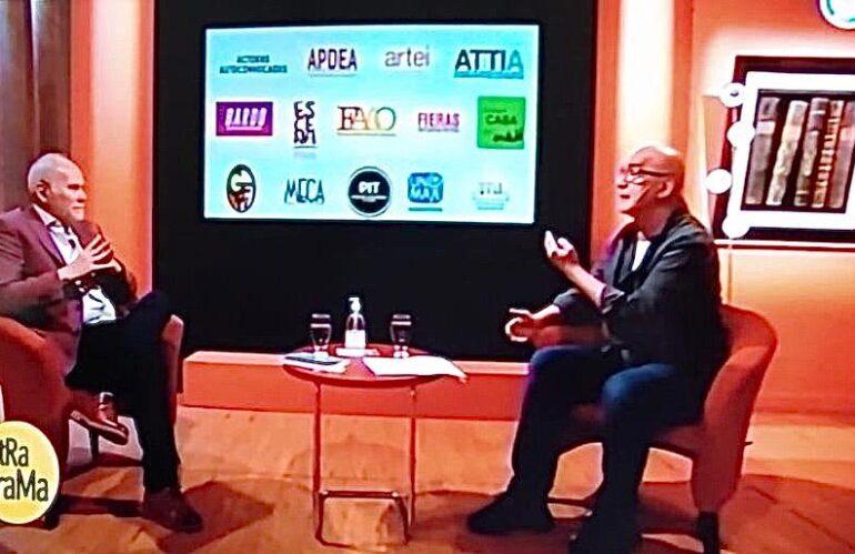 """Alfredo Martín -APDEA- en """"OTRA TRAMA"""" de Osvaldo Quiroga. TV Pública"""
