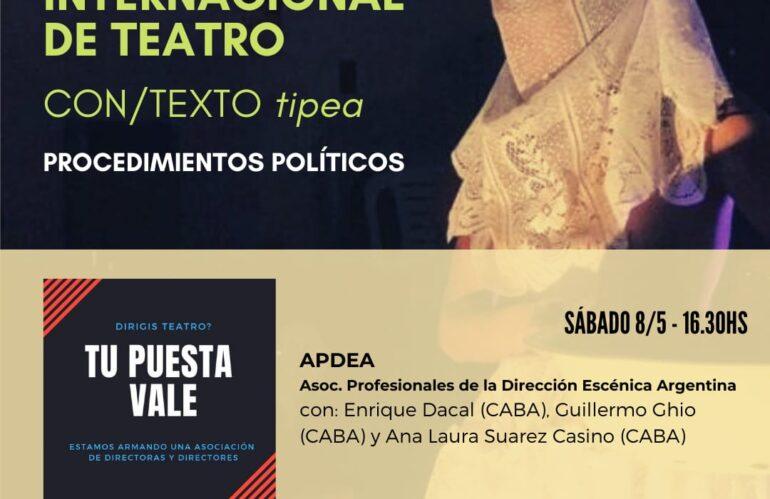 V Congreso Internacional de Teatro CON/TEXTO tipea