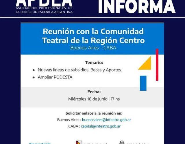 Apdea Informa: Reunión INT Región Centro