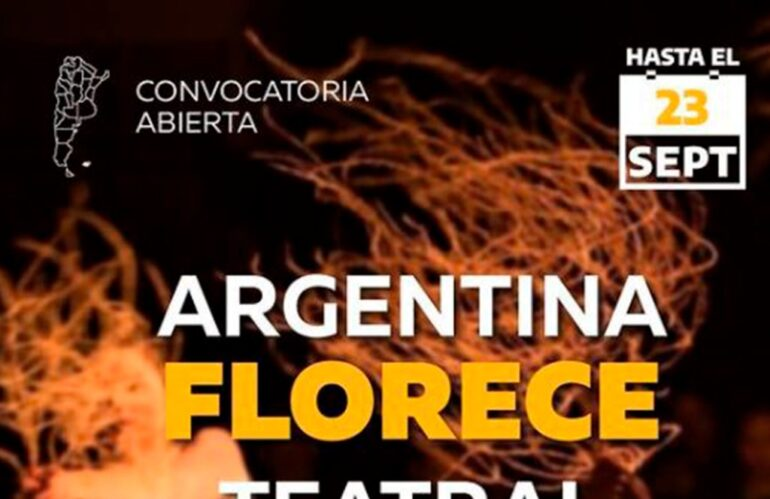 Apdea Informa: Argentina Florece Teatral